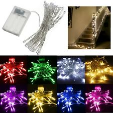 AA Battery Powered 10/20/30/40 LED Hotel Wedding Romantic String Fairy Light
