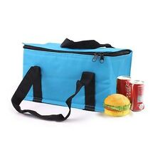 Travel Portable Lunch Picnic Thermal  Insulated Cooler Ice Tote Bag Lunch Box S