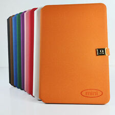 Folio Flip PU Leather Card Slot Stand Case Cover Resting for Apple iPad Mini 1st