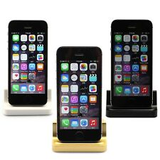 Sync Date Relaxation Fast Charger Cradle Desk Dock Station For iPhone 5 5S 5C 6