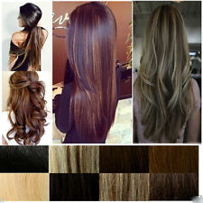 Magnificent Heat Resistant Synthetic Clip In Hair Extensions US Seller 30 Colors