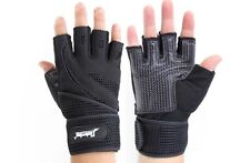 Weight lifting Body Building Gym Fitness Gloves Workout Sports Exercise Training
