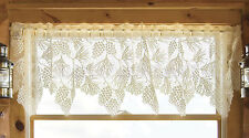 Woodland Valance by Heritage Lace, 60x16, 2 Colors, Pinecones and Pine Branches