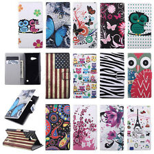 Hot Sale Leather Flip Wallet Pouch Case Cover For Nokia Lumia N730 N735 / Bekoo