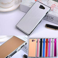 Luxury Brushed Skin PC Hard Shell Cover Case For Sony Xperia M2 S50h/Dual D2302