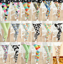 Fashion Cute Mulit-colors Women's Slim Warm Leggings Slim Stretch Footed Legging