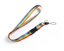Gay Pride Rainbow Lanyards Neck Strap for ID Card / Badge - Wholesale
