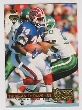 1992 Pro Set Football Gold MVP Insert Cards Complete Your Set.