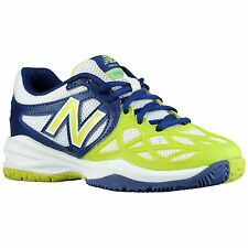 New Balance Kids Youth NEW KC996GBY Grey Black Shoes Sneakers Size 13