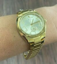 Ladies ESQ 07101401 Gold-Tone Stainless Steel Bracelet Gold-Tone Dial Watch