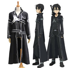Sword Art Online Kiriya Kaito Cosplay Costume Anime Mens SAO COS Uniform Outfit