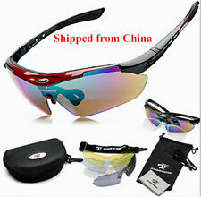 Cool Cycling Riding Bicycle Sun Glasses Sports Eyewear Goggle 5 Lens High Myopia