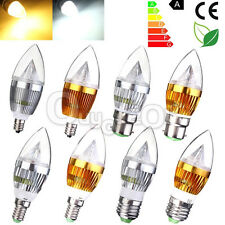 Lampadina E27 E14 E12 B22 Dimmable/No Dimmable 3W 6W 9W Candela Lampada Luce HOT