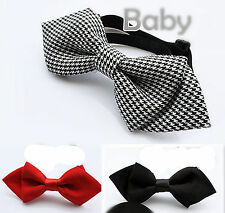 1PC Boys Kids Children Party School skull Wedding dance bow tie Necktie bowtie