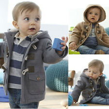 Baby Boys Jacket Winter Clothes Kids Outerwear Coat Thick Clothing With Hooded