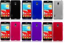 TPU Soft Candy Gel Case Phone Cover Accessory for LG Optimus F7 US780 LG870 870
