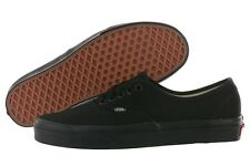 Vans Authentic Era VN-0EE3BKA All Black Canvas Shoes Medium (B, M) Women
