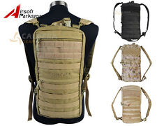 Tactical Camping Hiking Outdoor 2.5L Molle Hydration Water Pouch Bag Backpack