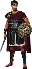 Roman Gladiator Spartan Soldier Warrior Greek Trojan Hercules God Costume Mens