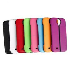 New Foldable Plastic + TPU Case Cover for Samsung Galaxy S4 i9500 Black Bottom