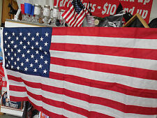 USA FLAGS US FLAG MADE IN THE USA OUTDOOR  FLAG Nylon Material free ship