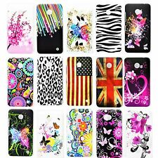 Cell Phone Shell Hard Protective Flower Case Cover For Nokia Lumia 630 520 N520