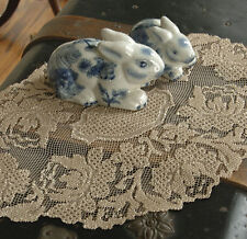 Windsor Doily by Heritage Lace, 12x16, Choice of 2 Colors, Vintage European Look
