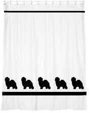 Old English Sheepdog Dog Shower Curtain *Your Choice of Colors* - for you