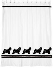 Tibetan Terrier Dog Shower Curtain - Your Choice of Colors - Our Original