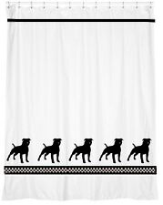 Staffordshire Bull Terrier Shower Curtain -Your Choice of Colors- Our Original
