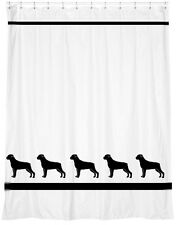 Rottweiler Dog Shower Curtain *Your Choice of Colors* - Original