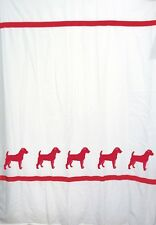 Jack Russell Terrier Dog Shower Curtain Color Choice - Our Original