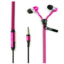Zipper 3.5mm In-Ear Earbuds Earphone Headset Headphone For iPhone Samsung LG