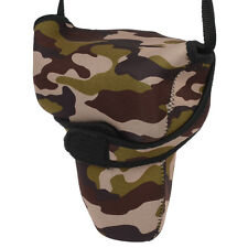 Insert camera bag for SLR digital camera Camouflage Elastic Diving Material