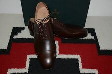 Crockett & Jones Made in England Hallam Brown Leather Dress Shoes