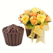 Cupcake Easy Arranger Flower Vase for Centerpiece, Weddings. Multiple Colors