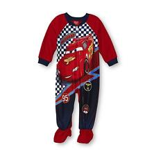CARS LIGHTNING McQUEEN Footed Pajamas Blanket Sleeper Toddlers Size 3T or 4T $30