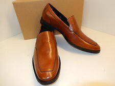 NEW COLE HAAN ADAMS C12375 BRITISH TAN LEATHER VENETIAN STYLE DRESS LOAFERS