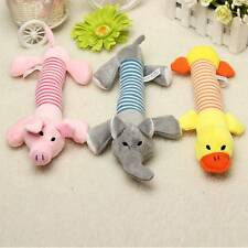Pet Plush Toy Dog Puppy Sound Chew Squeaky Squeaker Animal Play Elephant Duck