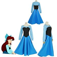 Cartoon The Little Mermaid Ariel Mermaid Princess Ariel Dress cosplay costume