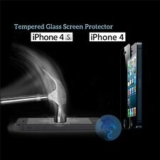Lot Premium Tempered Glass Film Guard Screen Protector For iPhone 4 4S 5 5C 5S