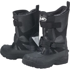 HJC MENS Standard Black Waterproof SnowMobile Snow Boots