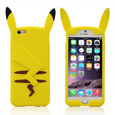 3D Stylish Cute Lovely Cartoon Soft Silicone Case Cover Skin For iPhone 6 6 Plus
