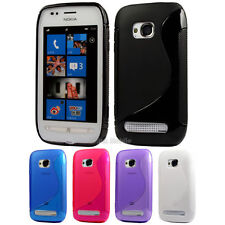 Silicone TPU Gel Bumper Case Cover Sleeve Skin For The Nokia Lumia 710