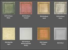 Amazing R24 STYROFOAM 20x20 TIN LOOK CEILING TILES DIFFERENT COLORS