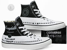 Converse All Star Chucks Hi - Andy Warhol - Black White / Schwarz Weiß 147051C