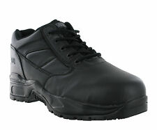 New Mens Magnum Viper 1 Low Black Steel Toe Cap Safety Shoes Trainers Size 4-13