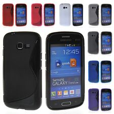 Soft Gel Tpu Silicone Skin Back Case Cover For Samsung Galaxy Star Pro S7262