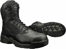 Magnum Mens Stealth Force 8.0 Size Zip SZ CT Black Police Army Combat Boots 5310