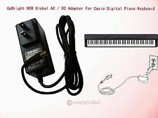 Worldwide AC Adapter For Casio Privia Digital Piano Keyboard Series Power Supply